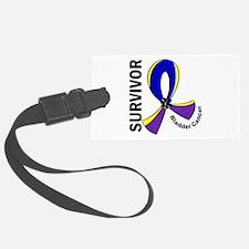 Bladder Cancer Survivor 12 (Tri) Luggage Tag