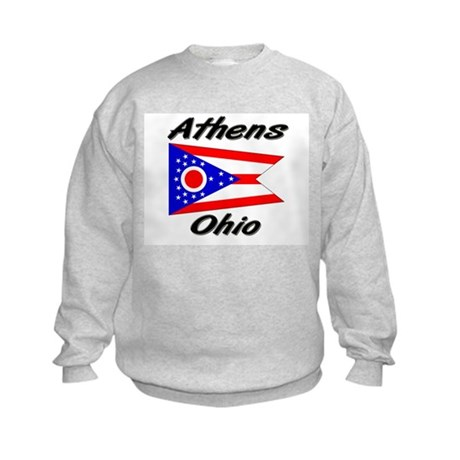 Athens Ohio Kids Sweatshirt