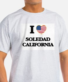 I love Soledad California USA Design T-Shirt