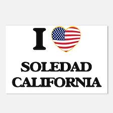 I love Soledad California Postcards (Package of 8)
