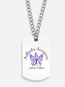 Arthritis Butterfly 6.1 Dog Tags