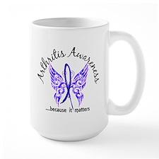 Arthritis Butterfly 6.1 Mug