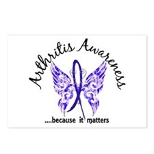 Arthritis Butterfly 6.1 Postcards (Package of 8)