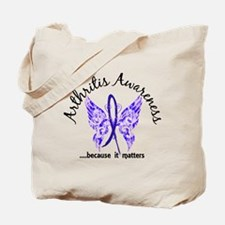 Arthritis Butterfly 6.1 Tote Bag