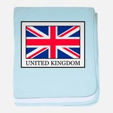 United Kingdom baby blanket