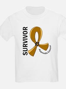 Appendix Cancer Survivor 12 T-Shirt
