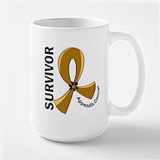Appendix Cancer Survivor 12 Large Mug