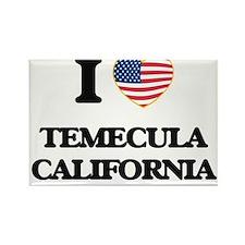 I love Temecula California USA Design Magnets