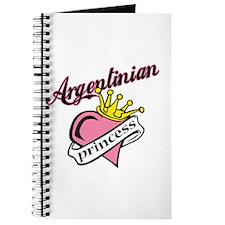 Argentinian Princess Journal