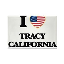 I love Tracy California USA Design Magnets