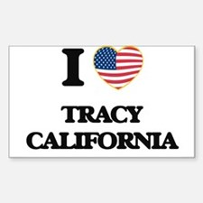 I love Tracy California USA Design Decal