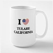 I love Tulare California USA Design Mugs