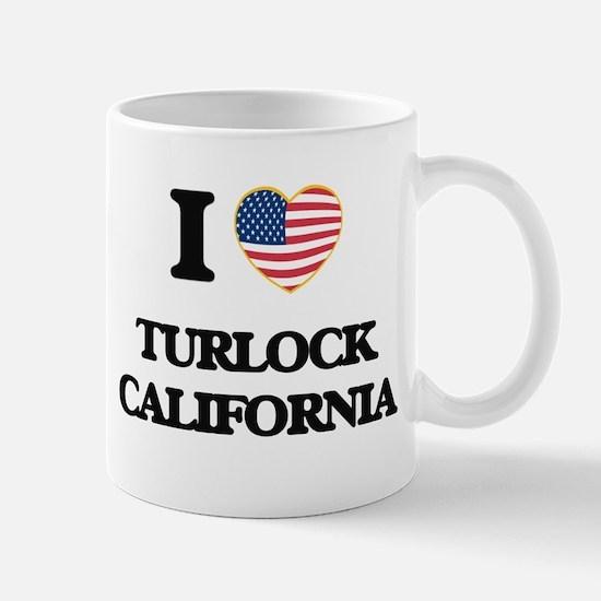 I love Turlock California USA Design Mugs
