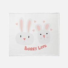 Bunny Love Throw Blanket