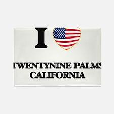 I love Twentynine Palms California USA Des Magnets