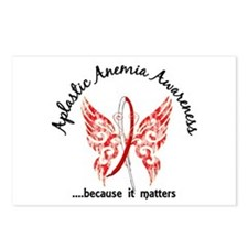 Aplastic Anemia Butterfly Postcards (Package of 8)
