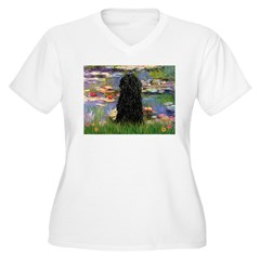 Monet's Lilies (#2) & Puli T-Shirt