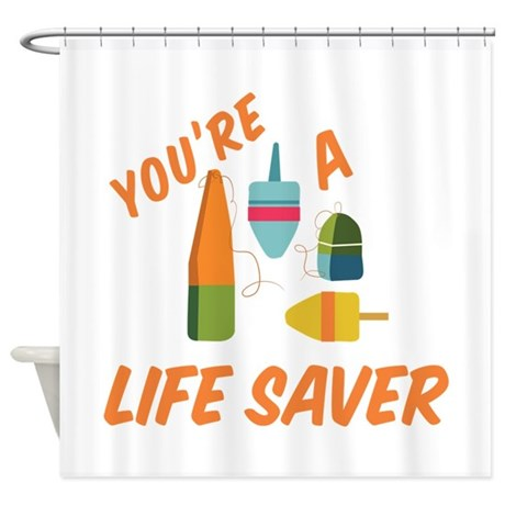 Life saver shower curtain by windmill41 for Shower curtain savers