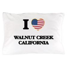 I love Walnut Creek California USA Des Pillow Case