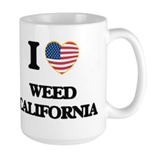 I love Weed California USA Design Mugs