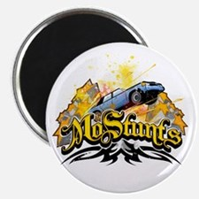 MoStunts car jump Magnets