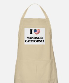 I love Windsor California USA Design Apron