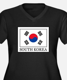 South Korea Plus Size T-Shirt
