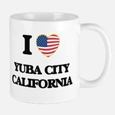 I love Yuba City California USA Design Mugs