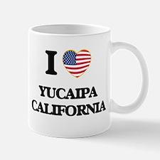 I love Yucaipa California USA Design Mugs