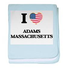 I love Adams Massachusetts USA Design baby blanket
