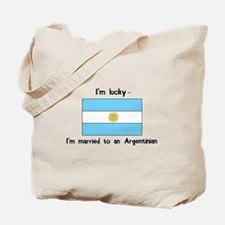 Married to an Argentinian Tote Bag