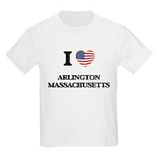 I love Arlington Massachusetts USA Design T-Shirt