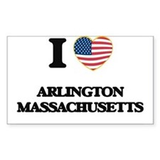 I love Arlington Massachusetts USA Design Decal