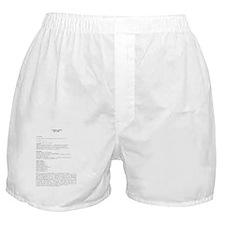 bio  Boxer Shorts