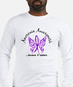 Anorexia Butterfly 6.1 Long Sleeve T-Shirt