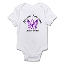 Anorexia Butterfly 6.1 Infant Bodysuit