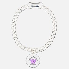 Anorexia Butterfly 6.1 Charm Bracelet, One Charm