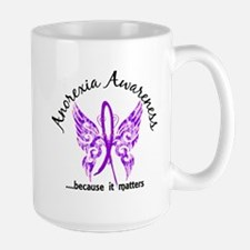 Anorexia Butterfly 6.1 Large Mug