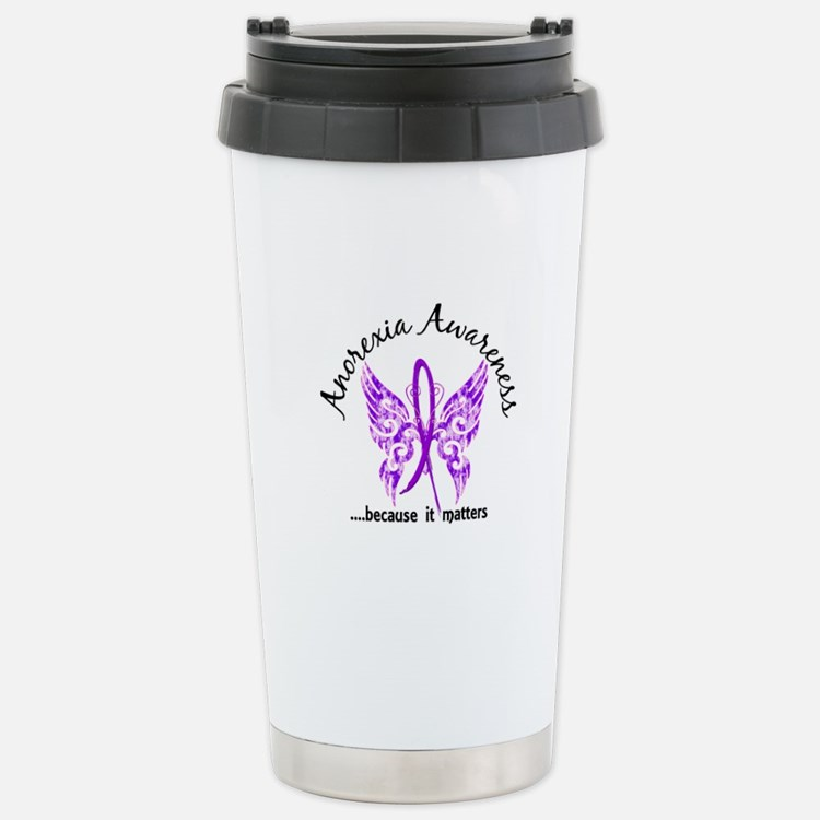 Anorexia Butterfly 6.1 Travel Mug