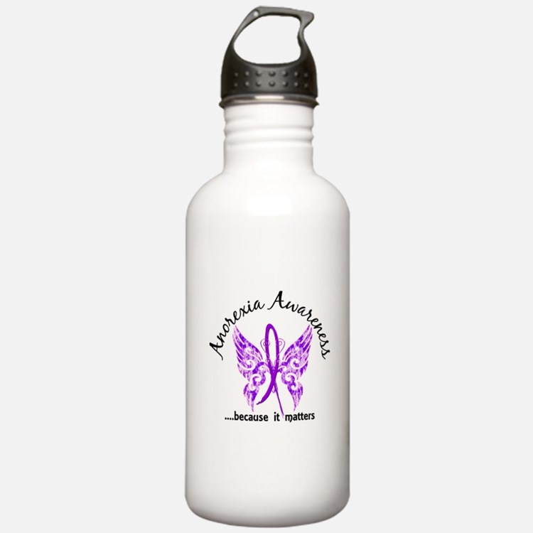 Anorexia Butterfly 6.1 Water Bottle