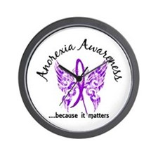 Anorexia Butterfly 6.1 Wall Clock