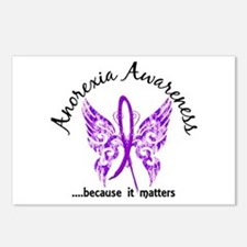 Anorexia Butterfly 6.1 Postcards (Package of 8)