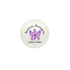 Anorexia Butterfly 6.1 Mini Button (10 pack)