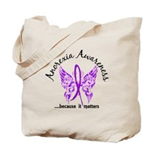 Anorexia Butterfly 6.1 Tote Bag