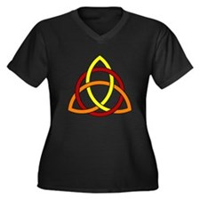 Celtic Fire Plus Size T-Shirt