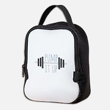 Pump It Up Neoprene Lunch Bag