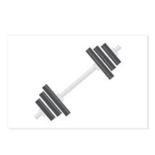 Barbell Postcards (Package of 8)