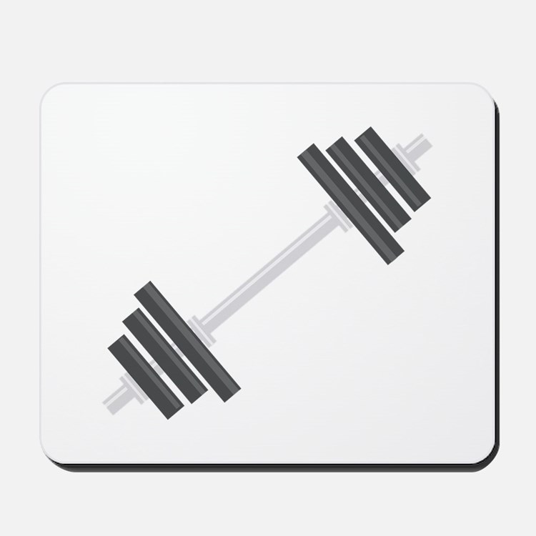 Barbell Mousepad