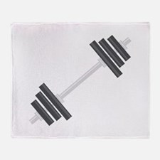 Barbell Throw Blanket