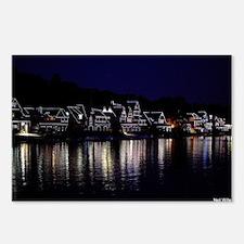 Philadelphia's Boathouse Postcards (Package of 8)